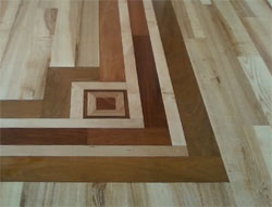 Custom Wood Floor Borders and Inlays Frederick MD