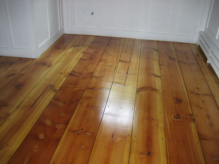 Hardwood Floor Refinishing Old Pine